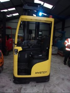HYSTER R1.4 Electric Reach Truck Image